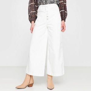 Free People   Colette Wide Leg High Waist Jeans